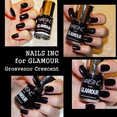 MichelaIsMyName: NOTD // NAILS INC for GLAMOUR Grosvenor Crescent