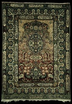 Antique Persian tapestry rug