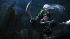 Mercenary Katarina Skin Splash League of Legends 1920×1080