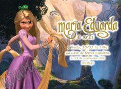 Convite Enrolados ou Rapunzel  :: flavoli.net - Papelaria Personalizada :: Contato: (21) 98-836-0113  vendas@flavoli.net