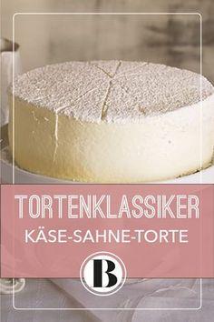 Käsesahne-Torte zählt mit zu den Klassikern unter den Tortenrezepten - und kann praktischerweise sogar eingefroren werden!