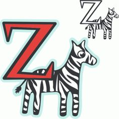 Ehlers-Danlos Syndrome (EDS) Zebra paper cutout design for the Cameo Silhouette.