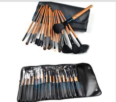 16 HQ Make Up Brushes 16 High Quality Make Up Brush set with Case [] - $55.00 : MissKellys Boutique