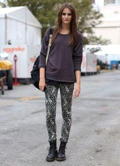 Nueva York Fashion Street - StreetStyle - Moda Otoño Invierno 2012 - ELLE.es - ELLE.ES