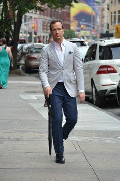 navy pants gray jacket - Google Search