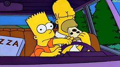 Si comes no conduzcas - Los Simpson
