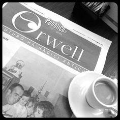 Gabriele @GNdeveloper: Metti una colazione con Orwell...
