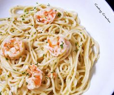 Cooking Creation: Shrimp Alfredo