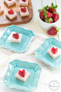 No Bake Strawberry Coconut Cream Bites are filled with fresh strawberry and coconut flavor! They are gluten free, sugar free, dairy free and vegan!