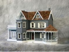Dollhouse City - Harborside Mansion Dollhouse Kit made from the finest material $689.99