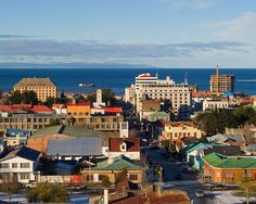 Chile's southernmost city - Punta Arenas.  It's WINDY down there!