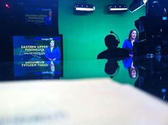Kevin caught this awesome behind-the-scenes photo during the 11! - Meteorologist Jessica Van Meter 7.18.14