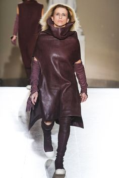 Rick Owens Real Women Ready To Wear Fall 2014