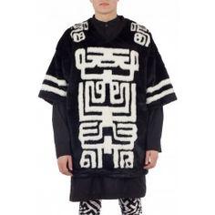 AW14M-Faux Fur Hockey T-shirt