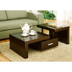 Furniture Of America Kyle Modern Coffee Table Overstockcom Shopping
