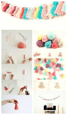 Diy Decoracion Habitacion Girl Rooms 43 New Ideas – Manualidades Tumblr Room Decor, Tumblr Rooms, Diy Tumblr, Diy Décoration, Easy Diy, Ideias Diy, Diy Art, Diy For Kids, Diy And Crafts