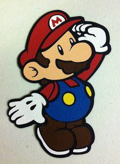 Cute Mario Die Cut!