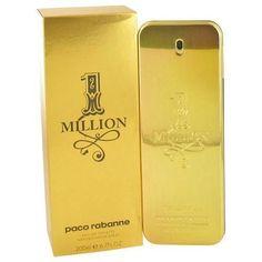 1 Million by Paco Rabanne Eau De Toilette Spray 6.7 oz (Men)  #UniversalSwagCom