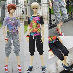1/3 1/4 scale BJD clothes T-shirts or pants doll accessories for BJD/SD EID.Not included doll,shoes and other accessories NO0586 #Affiliate