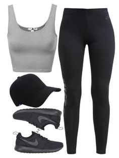 """Untitled #1196"" by thelovelybry ❤️ liked on Polyvore featuring NIKE and Keds"