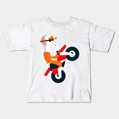 Unicorn Bike Young T-Shirt