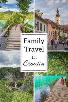 Croatia with kids: Zagreb and Plitvice Lakes National Park are very kid-friendly. Here's how we did it. Take your kids everywhere!