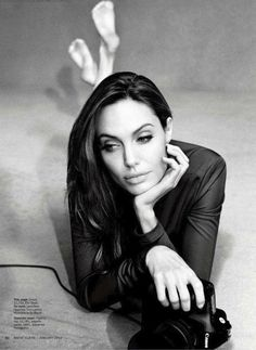 Angelina Jolie Marie Claire Jan'12