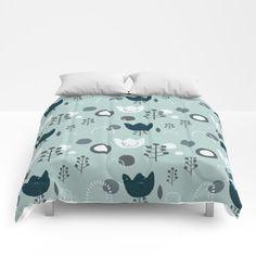blue flow Comforters Twin Xl, Comforters, Pattern Design, Flow, Warm, Blanket, Bed, Home, Creature Comforts