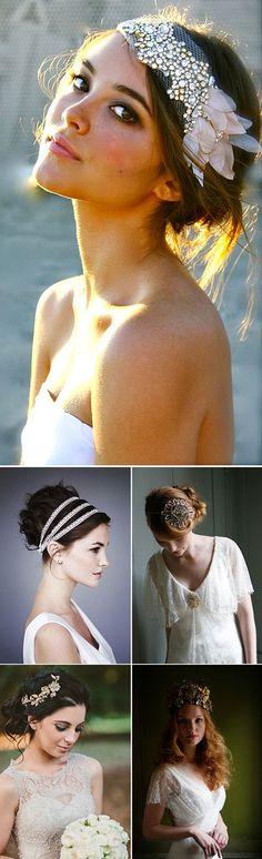 Peinados y maquillaje para novias Bohemias