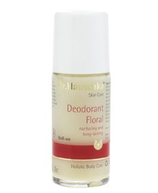 Rose Deodorant (Formerly Deodorant Floral): Nurturing and long lasting. Free of antiperspirants, this quick-drying formula absorbs odor without clogging pores. Neem leaf and sage extracts deodorize without irritation. Pure essential oils provide a mild, clean scent.