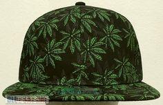 MARIJUANA CANNABIS CHRONIC KUSH POT HEMP LEAF PLANT WEED DOPE CAP HAT SNAPBACK #Premiumcaps #BaseballCap