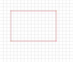 Step 1: Drawing the border box