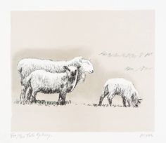 Henry Moore OM, CH 'Sheep in Landscape', 1974 © The Henry Moore Foundation, All…