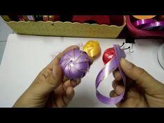 DIY: ribbon berry /ริบบิ้นโปรยทานเบอร์รี่ (ริบบิ้น 3 เส้น) - YouTube