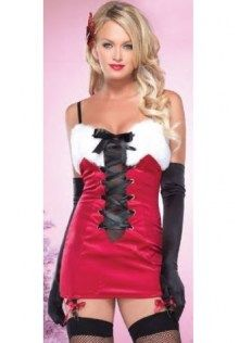 4d3ca8e8e Sleeveless Bodycon Christmas Dress Fancy Dress