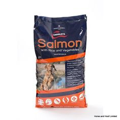 Chudleys Salmon With Rice Vegetables Maintenance Dog Food Chudleys Salmon with Rice Vegetables Maintenance Dog Food is suited towards working dogs that are going through long rest periods or are only partaking in lighter work