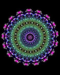 digital art images/browse | Green Mandala