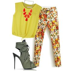 A fashion look from November 2014 featuring See by Chloé blouses, Giuseppe Zanotti ankle booties and Kendra Scott necklaces. Browse and shop related looks.