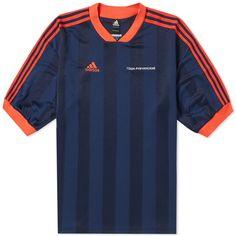 Gosha Rubchinskiy x Adidas Football Tee Navy 1