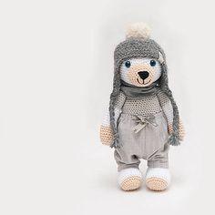 Max Puppets, Crochet Hats, Teddy Bear, Dolls, Handmade, Animals, Amigurumi, Knitting Hats, Baby Dolls