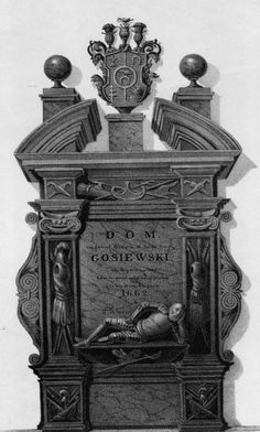 Aleksander Korwin Gosiewski (1662; * his beautiful tomb was destroyed probably by Russians in the 19th century), Wilno, Poland in the Interbellum (1918-39)