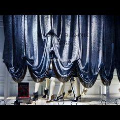 """SAKS FIFTH AVENUE,New York, """"Curtain Call"""", by Manolo Blahnik Footwear, pinned by Ton van der Veer"""