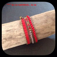 wrap rouge et or / hiver 2015
