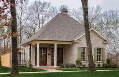 Custom Home Plan Exterior Photo