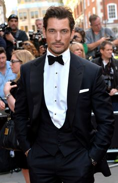 2014 GQ Men of the Year Awards: Style Roundup image GQ Men of the Year Awards David Gandy