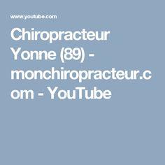 Chiropracteur Yonne (89)  - monchiropracteur.com - YouTube