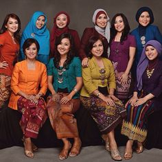 #kutubaru for bridesmaid