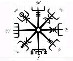 Viking's compass Vegvisir                                                                                                                                                                                 More