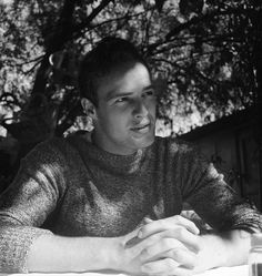 That mockneck sweater. | 19 Reasons Young Marlon Brando Will Ruin You For The Rest Of The Day