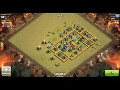 Clash of Clans TH6 vs TH6 Giant, Archer & Healer Clan War 3 Star Attack ⋆ Clash of Clans 3 Stars Clan Wars